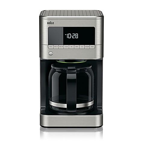Braun 174 Brewsense 12 Cup Drip Coffee Maker Bed Bath Amp Beyond