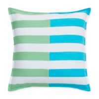 Southern Tide® Skipjack Chino Stripe Square Throw Pillow in Island Blue