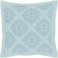 Surya Anniston European Pillow Sham in Sky Blue