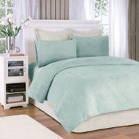 Premier Comfort® Soloft Plush Twin Sheet Set in Sterling