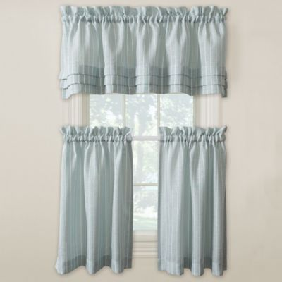 buy aqua valances for windows from bed bath & beyond
