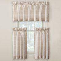 Surfside 24-Inch Kitchen Window Curtain Pair