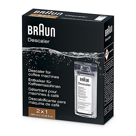 Braun Descaling Solution For Coffee Machines And Water
