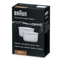 Braun Charcoal Water Filter for Braun BewSense Coffe Makers