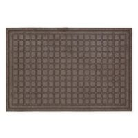 Mohawk Home® 24-Inch x 36-Inch Square Impressions Door Mat in Brown