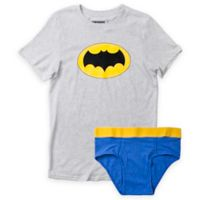 Underoos® Size Extra Large Men's 2-Piece Batman T-Shirt and Brief Set
