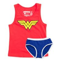 Underoos® DC Comics™ Wonder Women Girl's Tank/Underwear Set in Extra Small