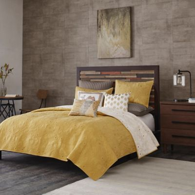 Brand new Buy Yellow Coverlet Set from Bed Bath & Beyond LI78