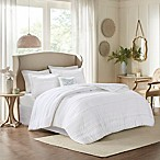 Madison Park Celeste 5-Piece King Comforter Set in White