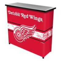 NHL Detroit Red Wings Portable Bar with Case