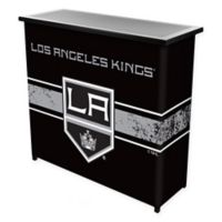 NHL Los Angeles Kings Portable Bar with Case
