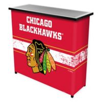 NHL Chicago Blackhawks Portable Bar with Case