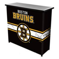 NHL Boston Bruins Portable Bar with Case