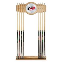 NHL Carolina Hurricanes Cue Rack with Mirror