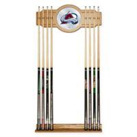 NHL Colorado Avalanche Cue Rack with Mirror