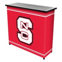 NCAA North Carolina State University Portable Bar with Case