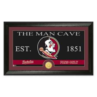 "Florida State University ""Man Cave"" Bronze Coin Panoramic Photo Mint"
