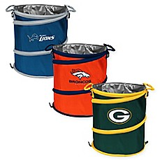 NFL Collapsible 3-in-1 Cooler/Hamper/Wastebasket