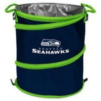 NFL Seattle Seahawks Collapsible 3-in-1 Cooler/Hamper/Wastebasket