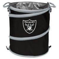NFL Oakland Raiders Collapsible 3-in-1 Cooler/Hamper/Wastebasket