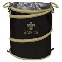 NFL New Orleans Saints Collapsible 3-in-1 Cooler/Hamper/Wastebasket