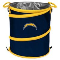 NFL San Diego Chargers Collapsible 3-in-1 Cooler/Hamper/Wastebasket