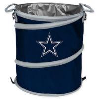 NFL Dallas Cowboys Collapsible 3-in-1 Cooler/Hamper/Wastebasket