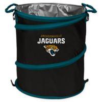 NFL Jacksonville Jaguars Collapsible 3-in-1 Cooler/Hamper/Wastebasket