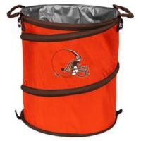 NFL Cleveland Browns Collapsible 3-in-1 Cooler/Hamper/Wastebasket