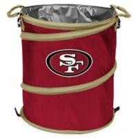 NFL San Francisco 49ers Collapsible 3-in-1 Cooler/Hamper/Wastebasket
