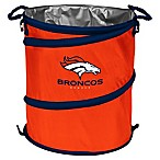 NFL Denver Broncos Collapsible 3-in-1 Cooler/Hamper/Wastebasket