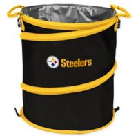 NFL Pittsburgh Steelers Collapsible 3-in-1 Cooler/Hamper/Wastebasket