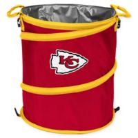 NFL Kansas City Chiefs Collapsible 3-in-1 Cooler/Hamper/Wastebasket