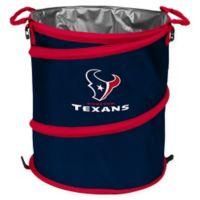 NFL Houston Texans Collapsible 3-in-1 Cooler/Hamper/Wastebasket