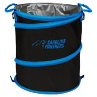 NFL Carolina Panthers Collapsible 3-in-1 Cooler/Hamper/Wastebasket