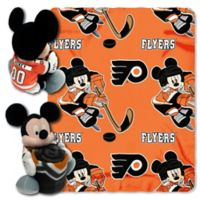 NHL Philadelphia Flyers & Mickey Hugger and Throw Blanket Set by The Northwest