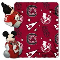 University of South Carolina & Mickey Hugger and Throw Blanket Set by The Northwest