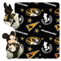 University of Missouri & Mickey Hugger and Throw Blanket Set by The Northwest