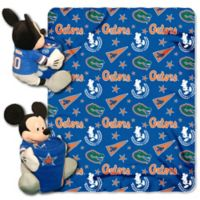 University of Florida & Mickey Hugger and Throw Blanket Set by The Northwest