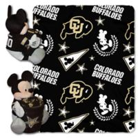 University of Colorado & Mickey Hugger and Throw Blanket Set by The Northwest