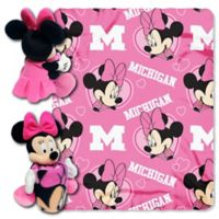 University of Michigan & Minnie Hugger and Throw Blanket Set by The Northwest