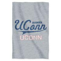 University of Connecticut Sweatshirt Throw Blanket by The Northwest