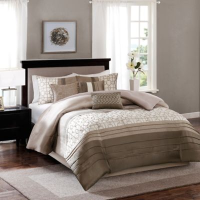 buy carina 8 piece california king comforter set in coral