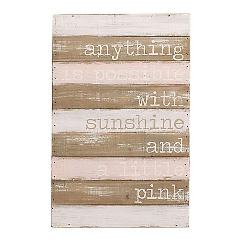 Mud Pie Wood Plank Wall Art