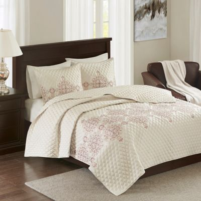 Buy Coral Colored Queen Bedding From Bed Bath Amp Beyond