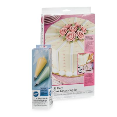 Wilton  53-Piece Cake Decorating Set - Bed Bath & Beyond