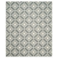 Safavieh Four Seasons Diamond Link 8-Foot x 10-Foot Indoor/Outdoor Area Rug in Grey/Ivory