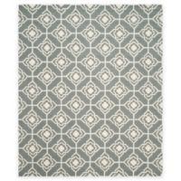 Safavieh Four Seasons Diamond Link 8-Foot x 10-Foot Indoor/Outdoor Area Rug in Grey/Ivory