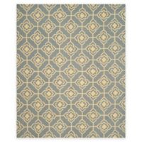 Safavieh Four Seasons Diamond Link 8-Foot x 10-Foot Indoor/Outdoor Area Rug in Grey/Gold