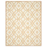 Safavieh Four Seasons Links 8-Foot x 10-Foot Indoor/Outdoor Area Rug in Ivory/Tan